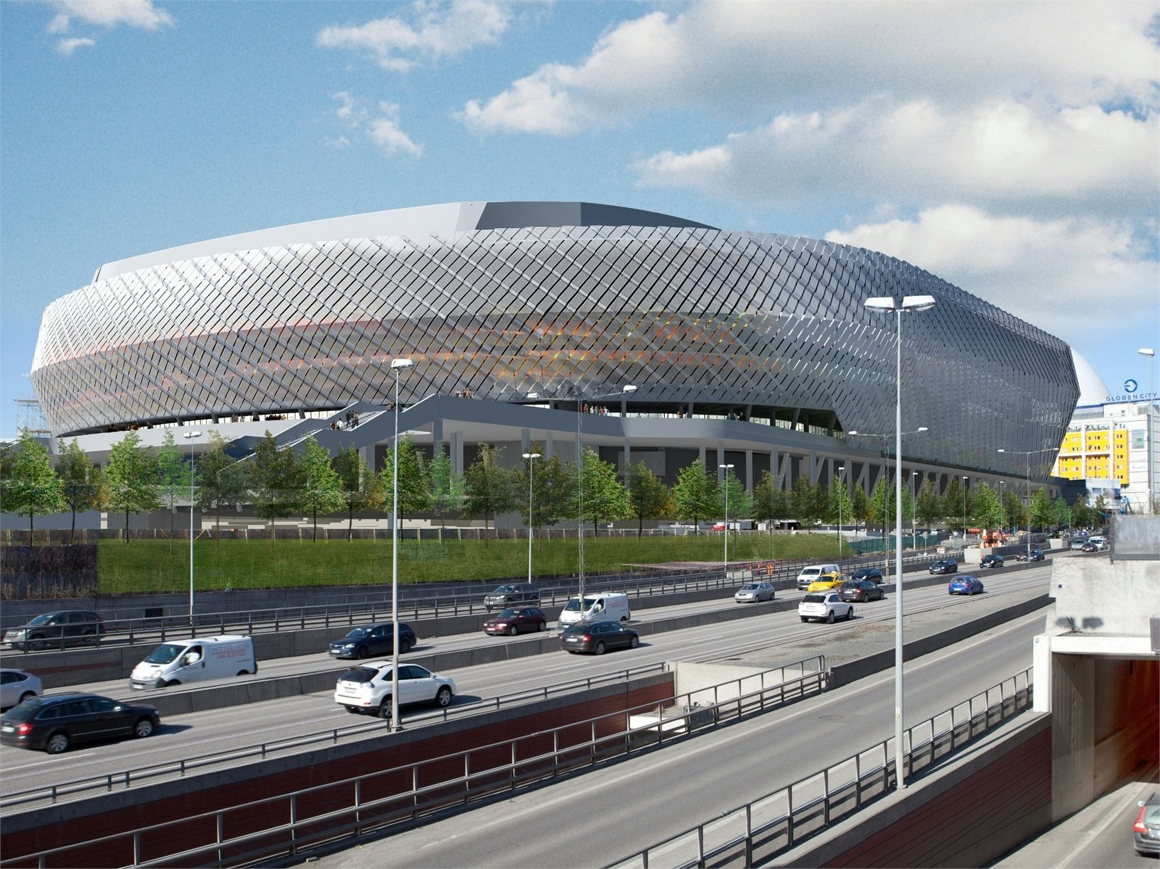 Dow Building Solutions per Tele2Arena