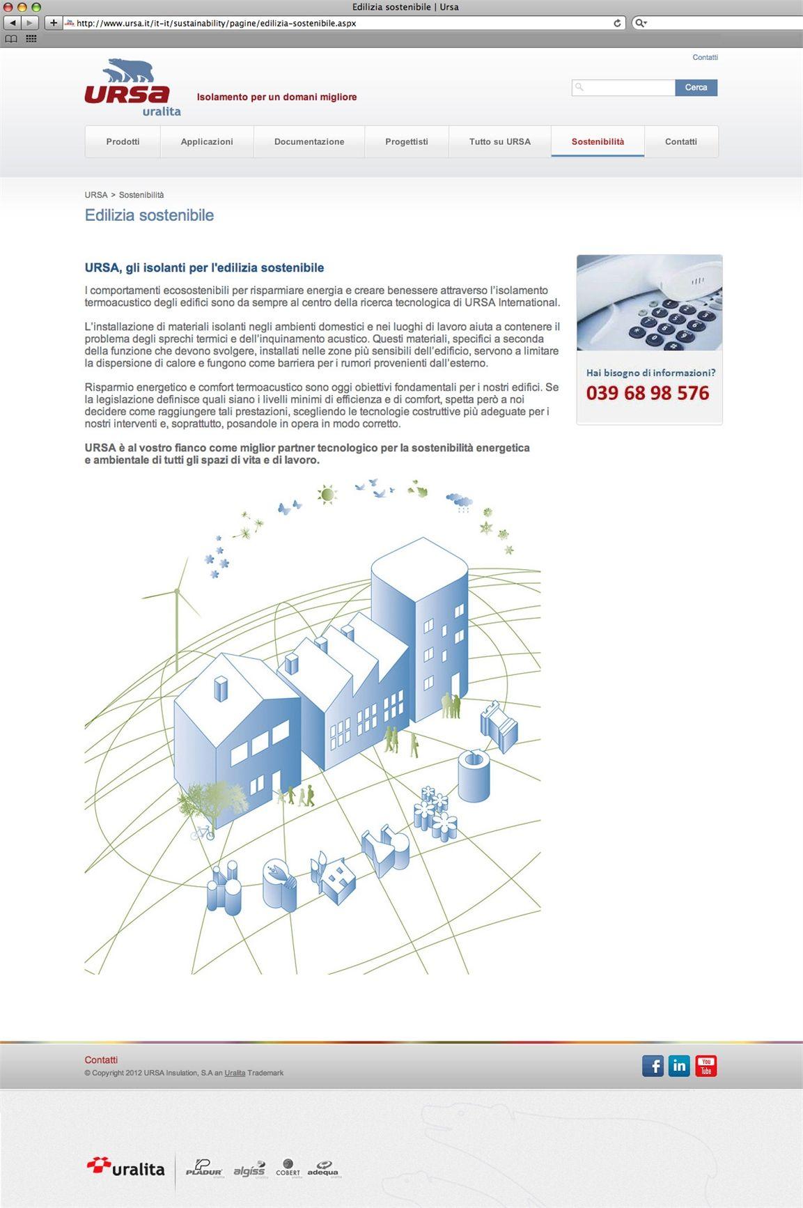 È online il nuovo sito Ursa, con tante novità per i professionisti del settore