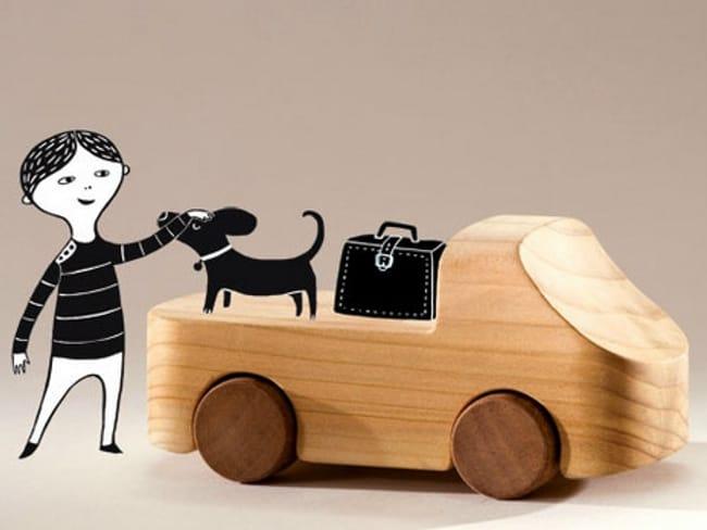 100% TobeUs: 100 macchine in legno firmate da 100 designers