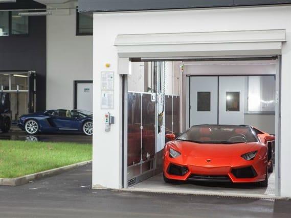 Idealpark per il nuovo edificio Lamborghini
