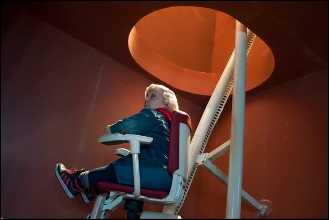 La poltroncina Flow di ThyssenKrupp Encasa nel nuovo film di Giuseppe Tornatore