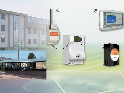 Sistemi di monitoraggio per impianti fotovoltaici senza fili di 4-noks