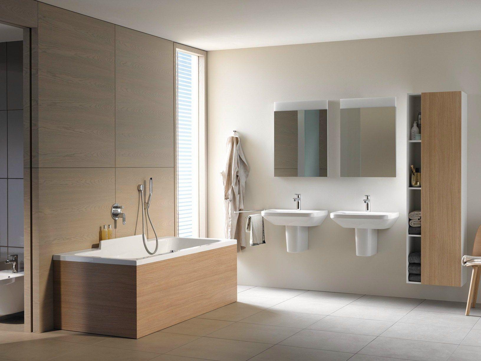 Vasca Da Bagno Duravit Prezzi : SemplicitÀ formale per l arredo bagno duravit