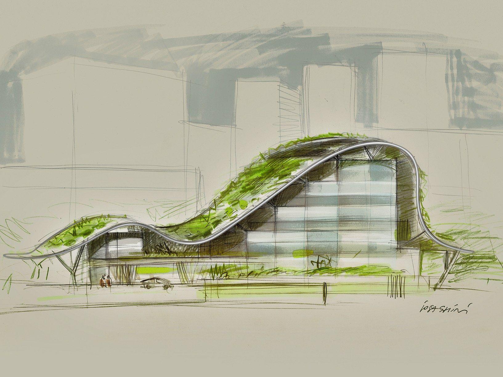 39 massimo iosa ghini architetto e designer 39 la mostra in for Progetti architettura on line