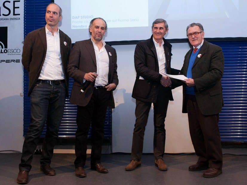 premiazione di DAP studio - Premio OAB per Migliore Opera Pubblica e Architettura al femminile - Foto Valerio di Mauro