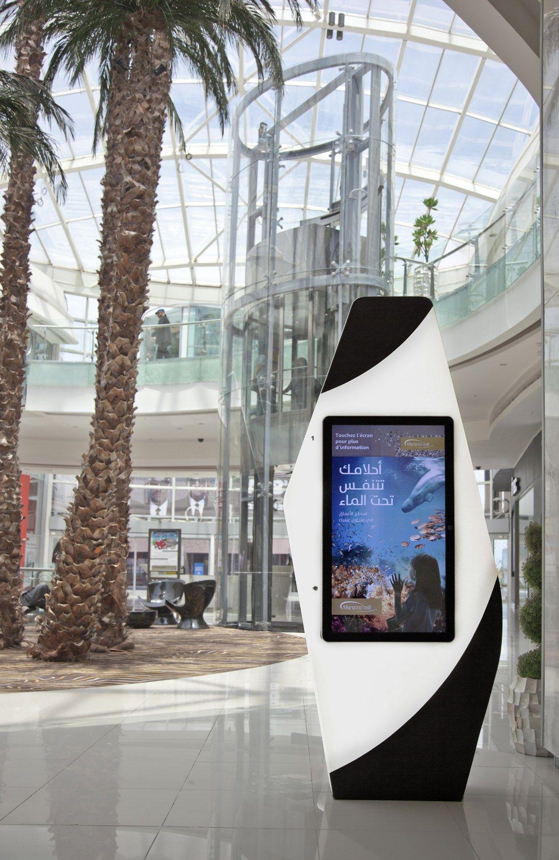 Al nuovo Morocco Mall la tecno-superficie DuPont™ Corian®