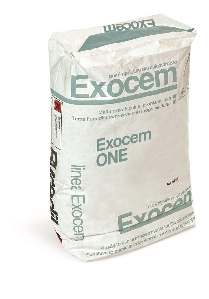 Ruredil presenta Exocem One, la malta a presa rapida per il ripristino e la finitura del calcestruzzo