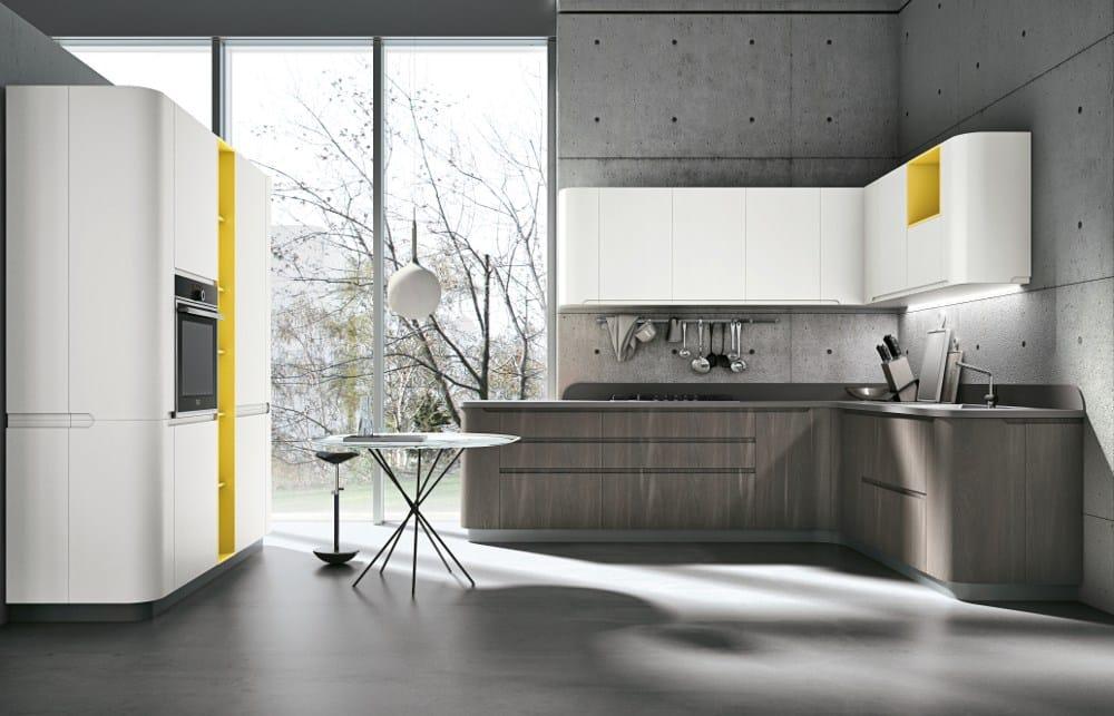 Cucine Bianco Grigio : Stosa cucine nuove finiture per bring