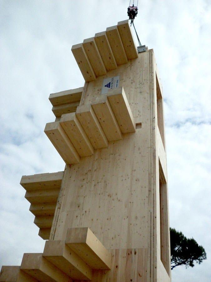 Wood Beton realizza una splendida villa a Forte dei Marmi