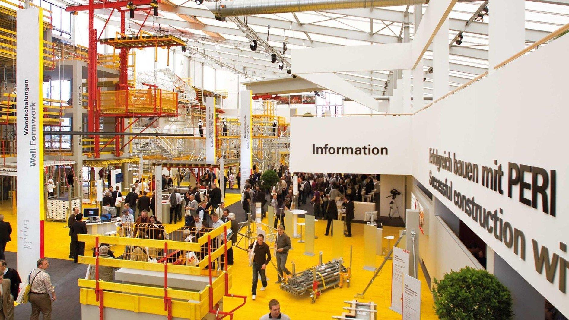 Peri: tecnologia innovativa, soluzioni complete e presentazioni orientate al cliente al bauma 2013