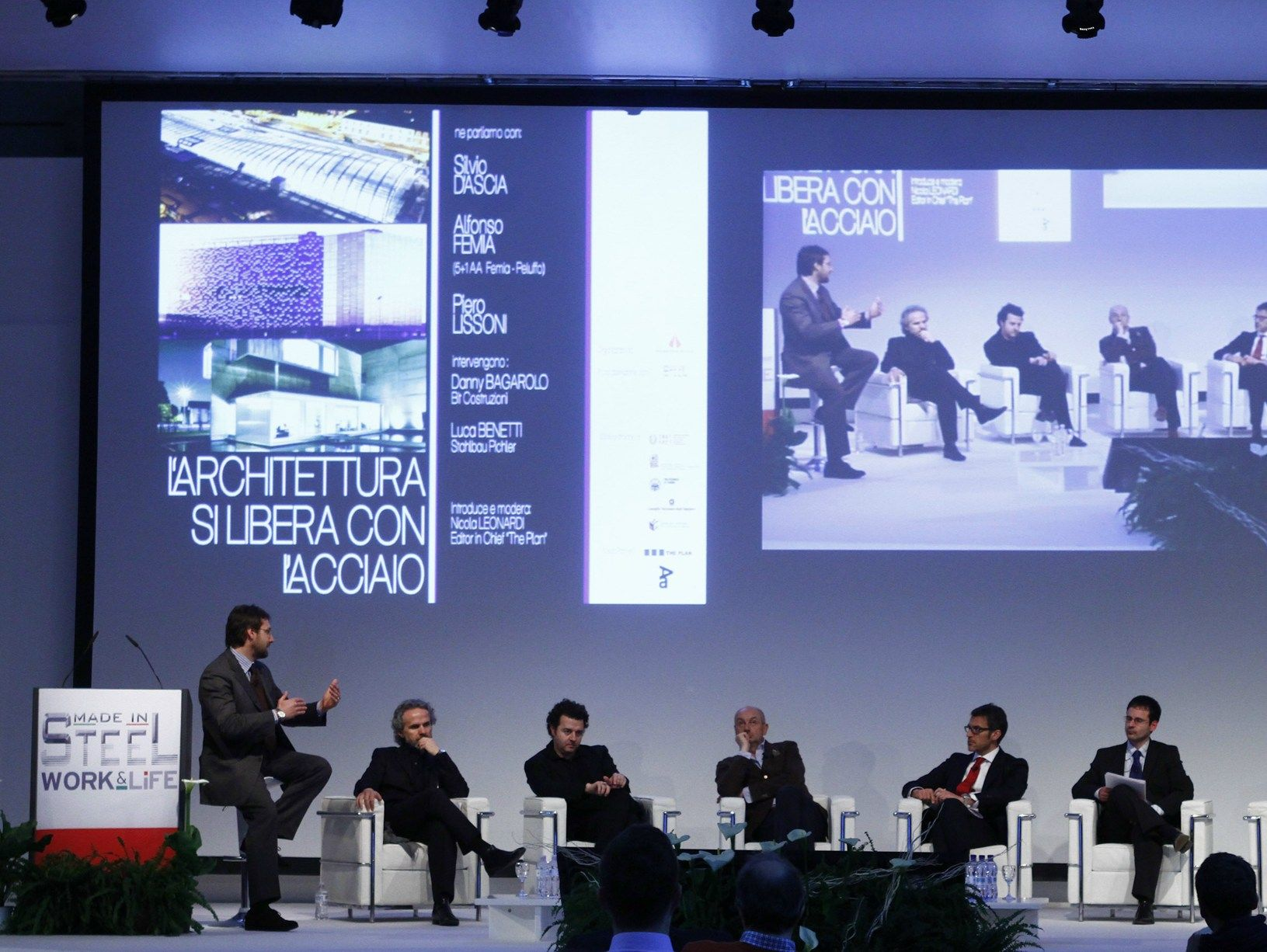 Architettura e acciaio: il dialogo