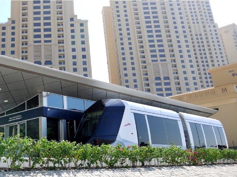 I pavimenti sopraelevati Nesite scelti per la nuova metro di Dubai