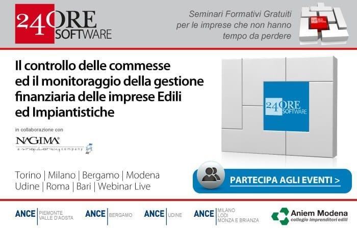I seminari formativi gratuiti per lo sviluppo d'impresa organizzati da 24 ORE Software