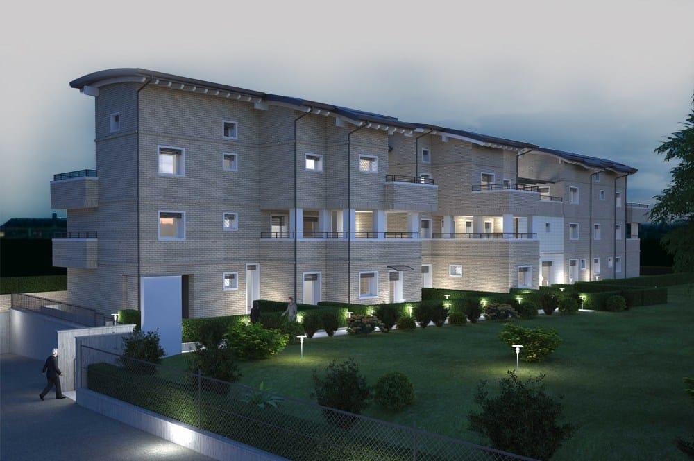 Il Sistema Aspirapolvere Tubò di Aertecnica per l'elegante complesso residenziale Parco dei Gessi
