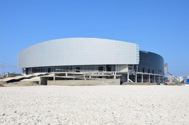La membrana ad alte prestazioni per edilizia DuPont™ Tyvek® selezionata per lo stadio di Curling in Russia