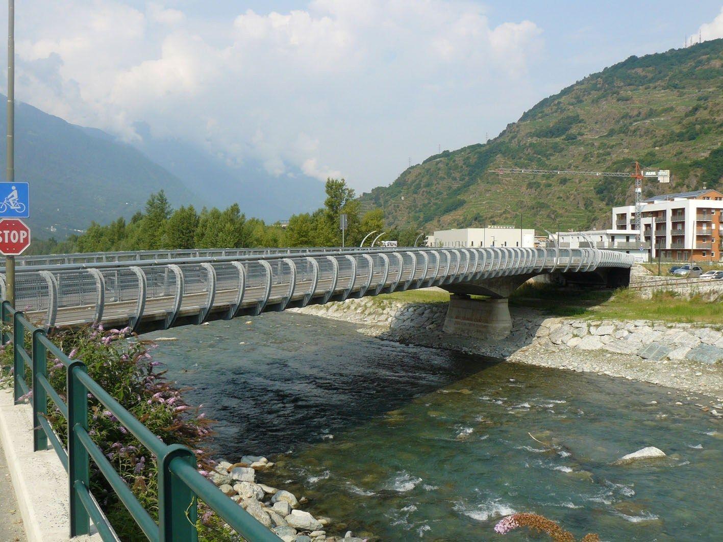 Laterlite per il nuovo ponte stradale sul fiume Mallero a Sondrio
