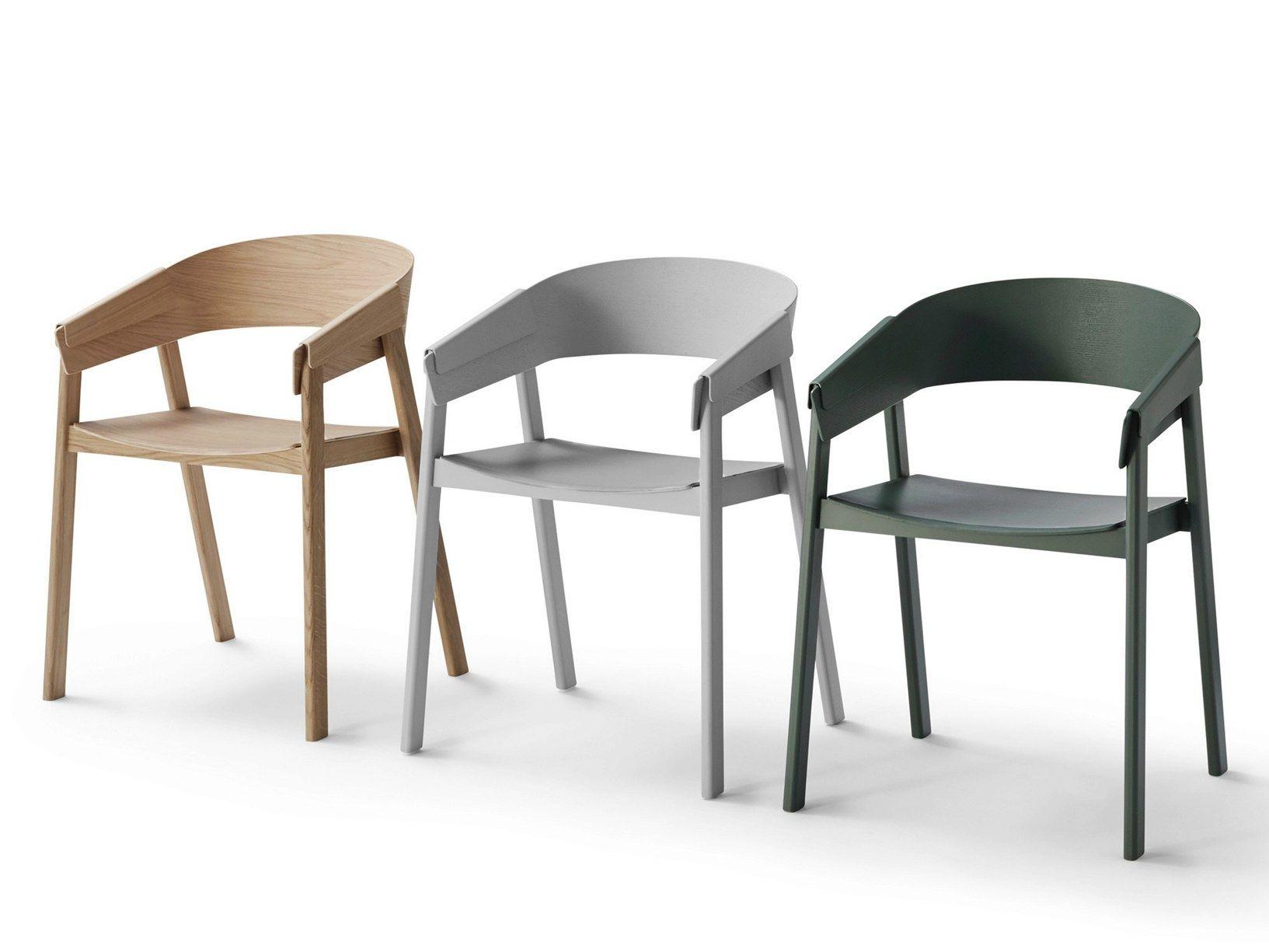 Cover la nuova sedia in legno di muuto for La sedia nel design