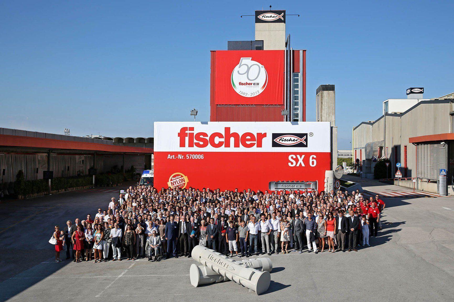 fischer Italia: cinquant'anni di successi