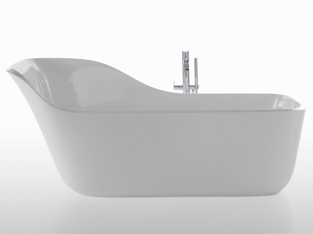 Wanda, la nuova vasca in Ceramilux di antoniolupi