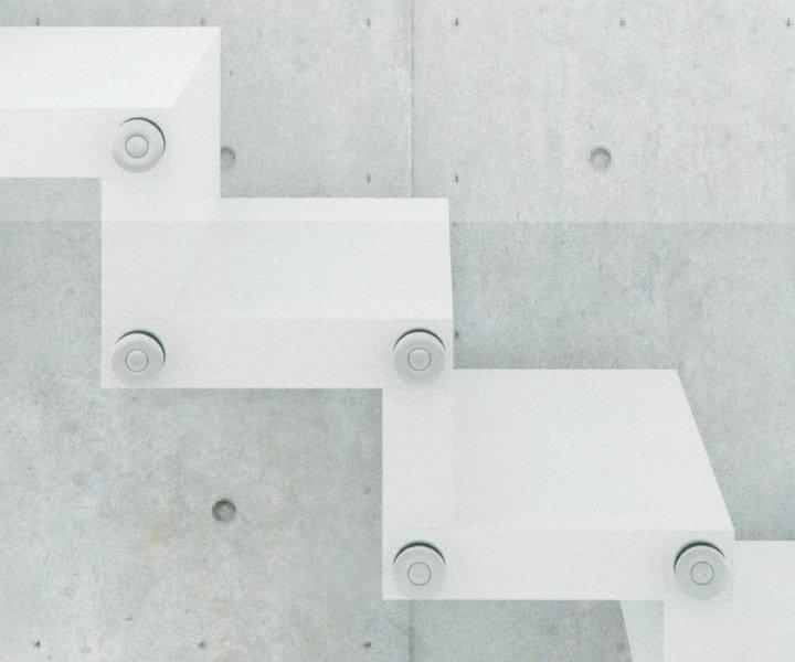 MADE Expo: leggerezza e stabilità per la nuova scala Rintal realizzata con DuPont™ Corian®