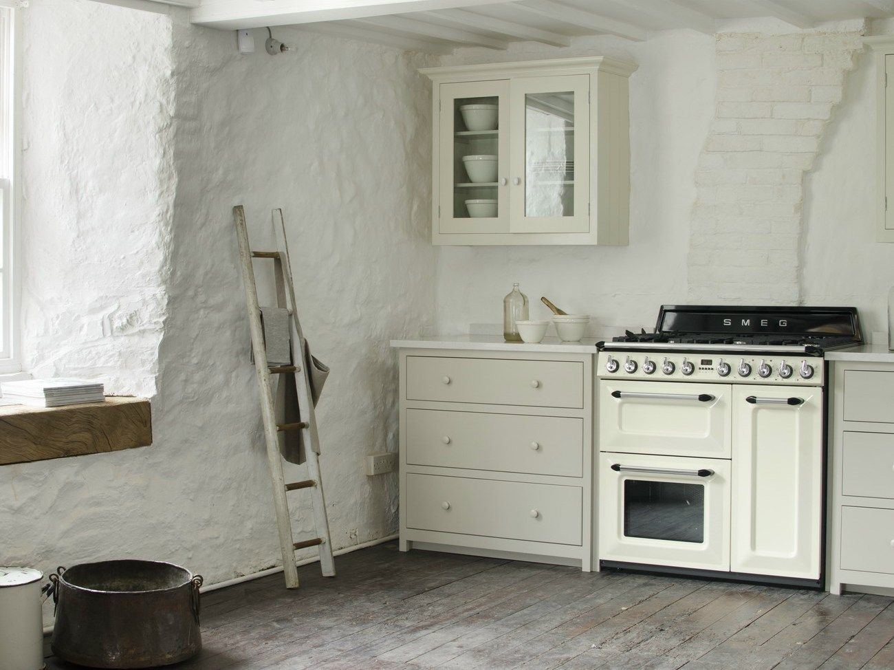 Beautiful Cucina A Gas Smeg Photos - Amazing House Design ...