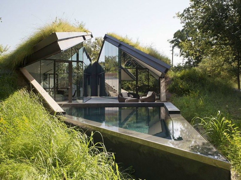 Austin: Edgeland Residence di Bercy Chen Studio