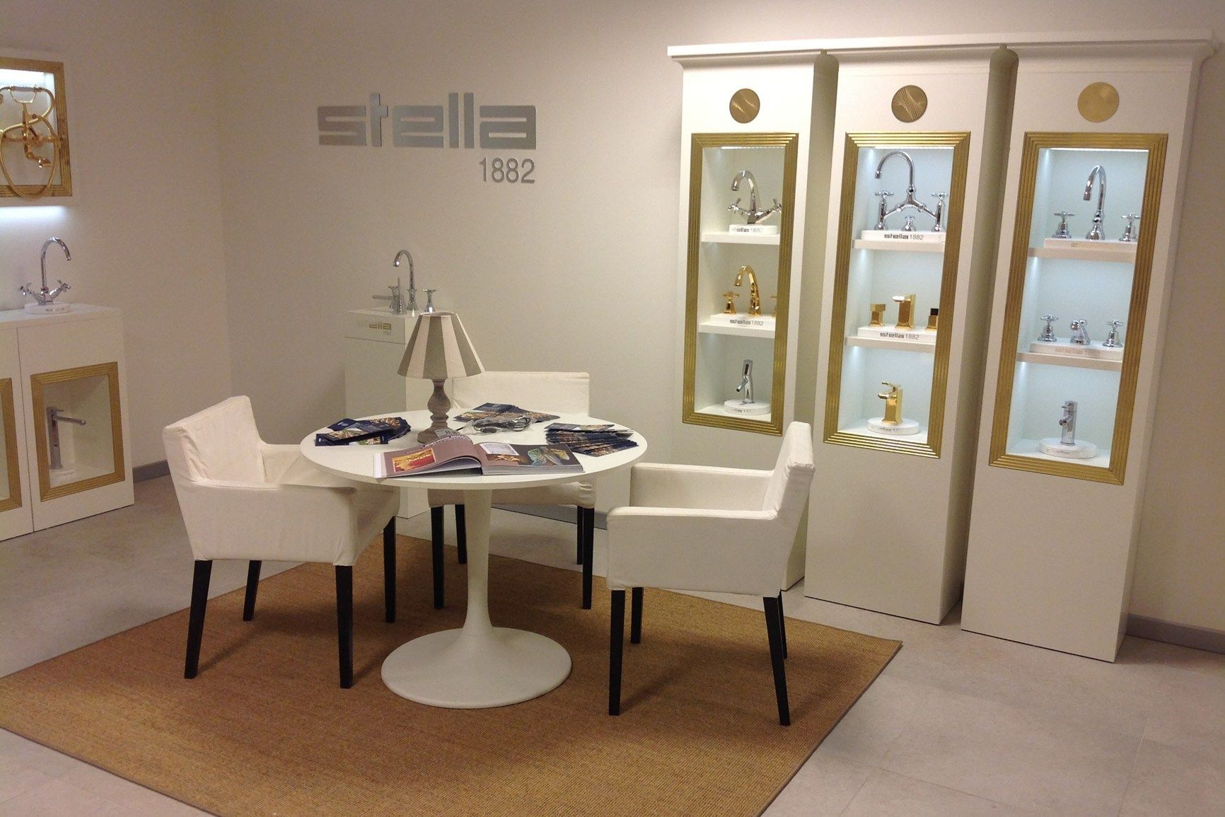 Il nuovo corner espositivo di Rubinetterie Stella a Roma