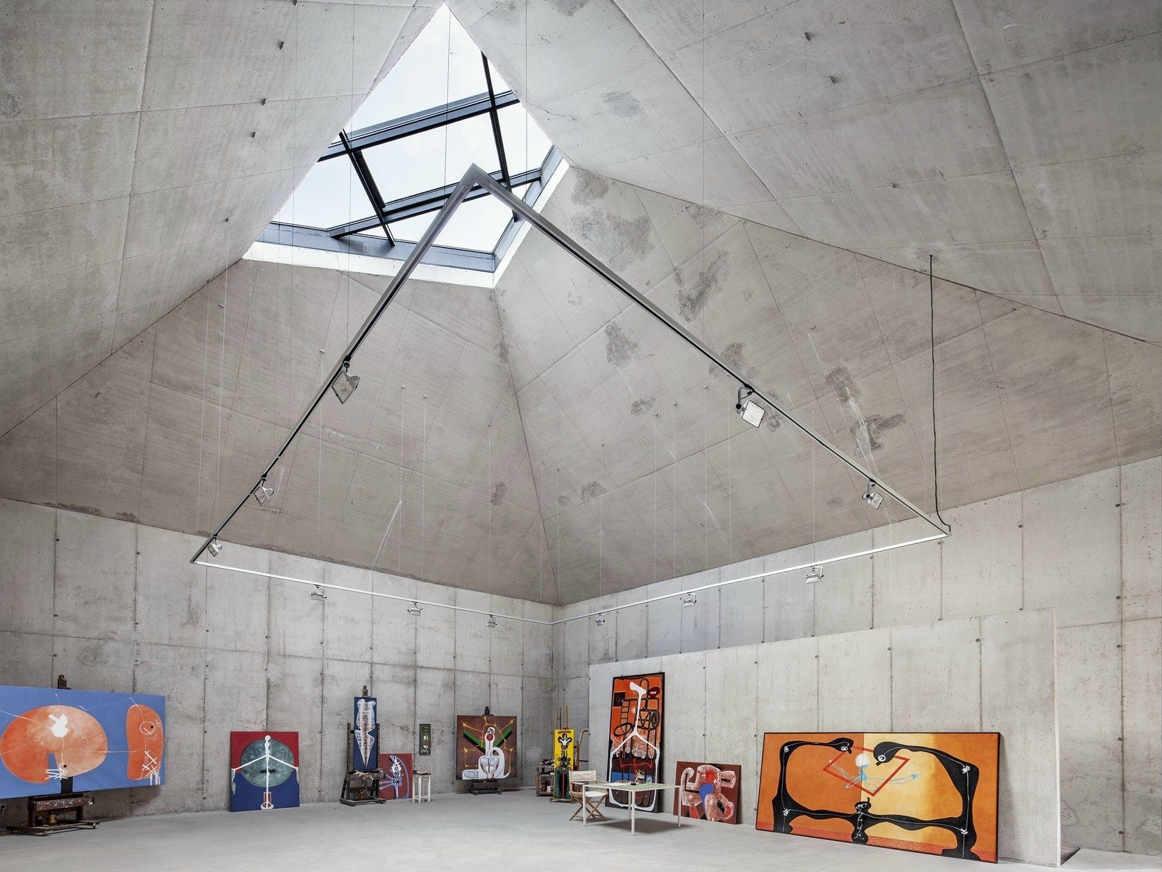 Vallvidrera: lo studio del pittore catalano Arranz-Bravo