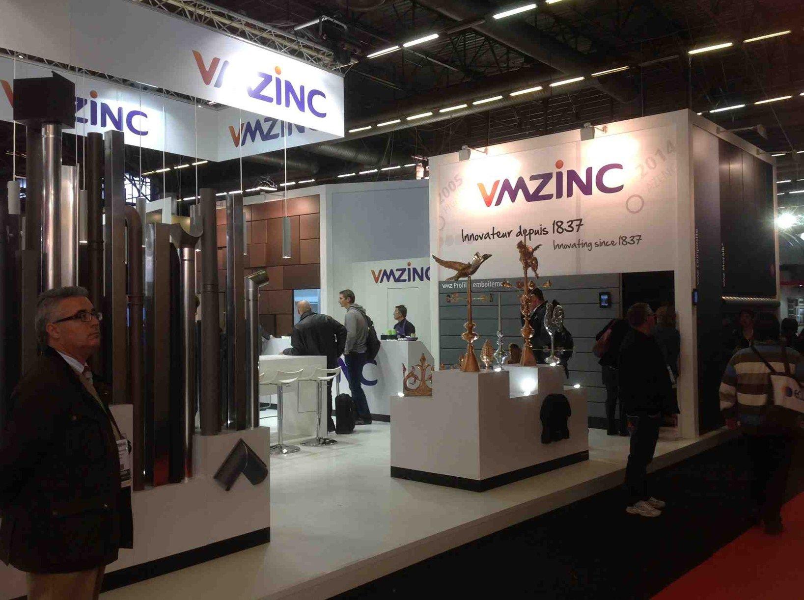 Tutte le novità VMZINC al Batimat di Parigi