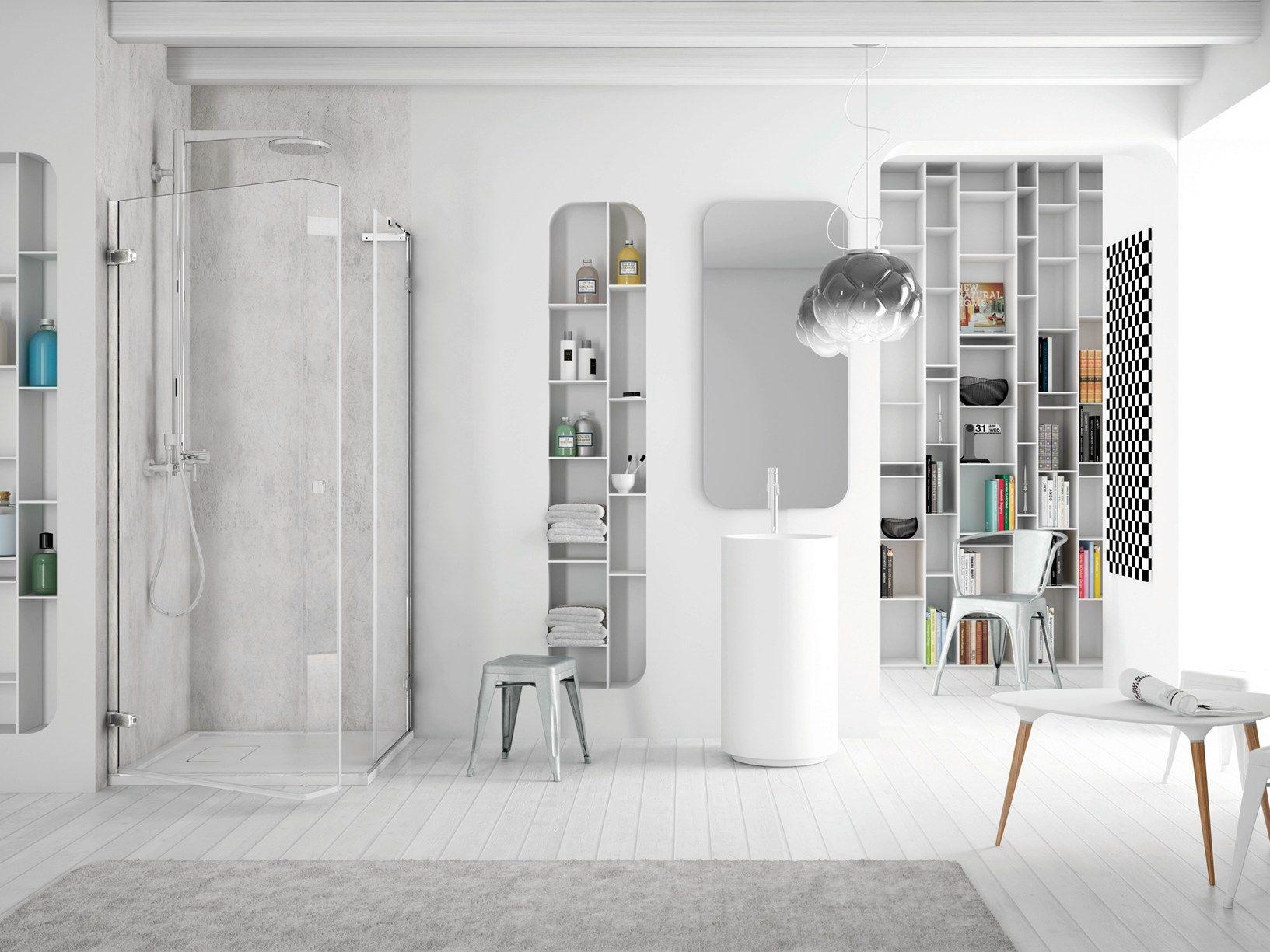 Softglass, la soluzione doccia di Megius