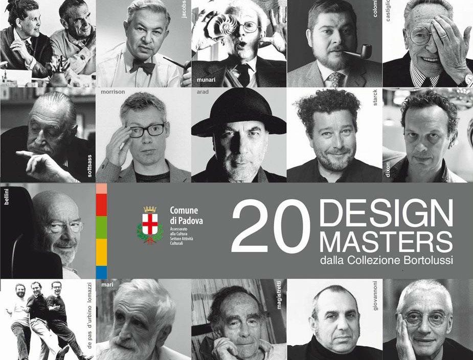 20 Design Masters dalla Collezione Bortolussi