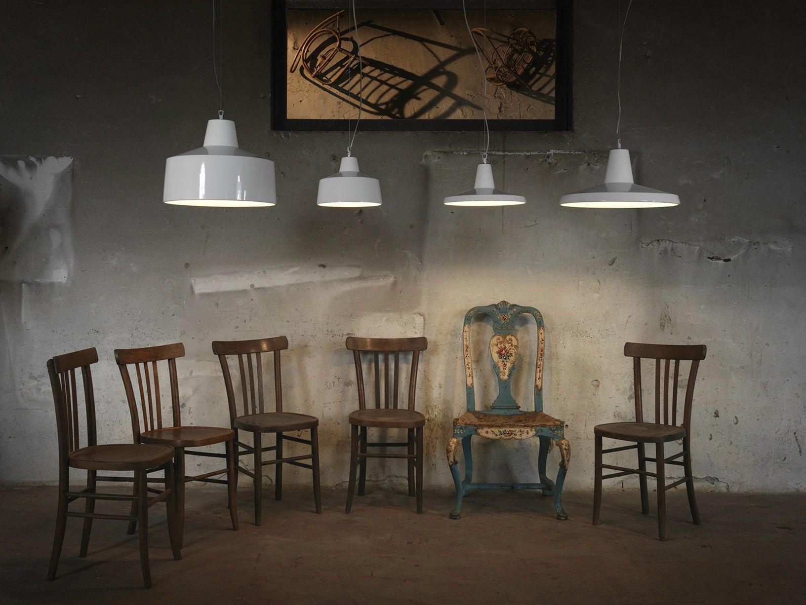Lampada Vintage Industriale : Design lineare per le lampade gangster di karman