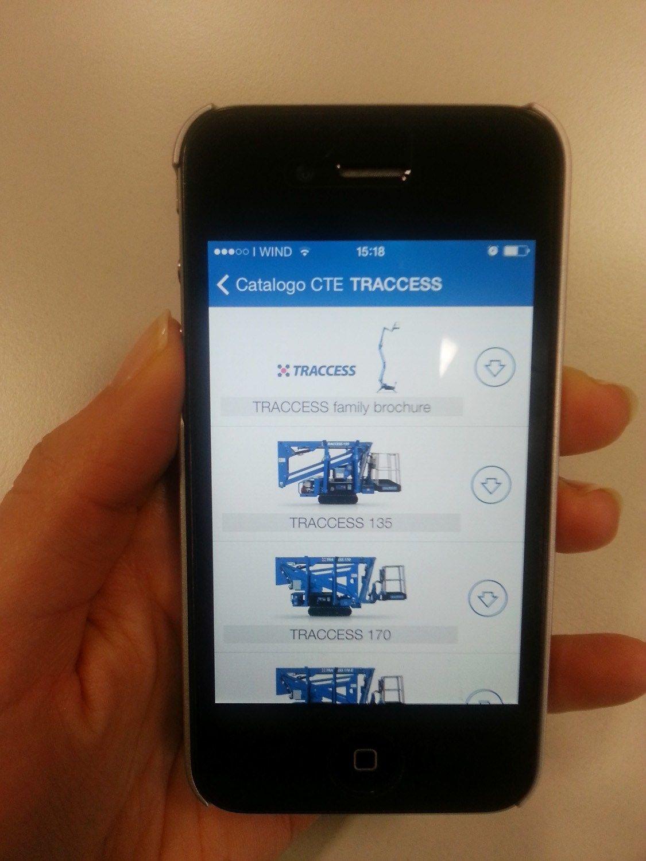 CTE e i suoi prodotti sbarcano su app