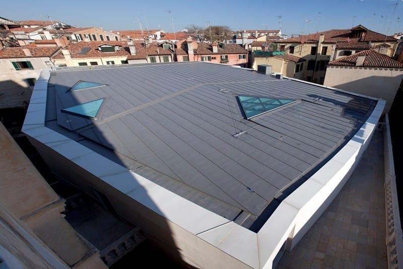 Le coperture in zinco VMZINC del Teatrino di Palazzo Grassi