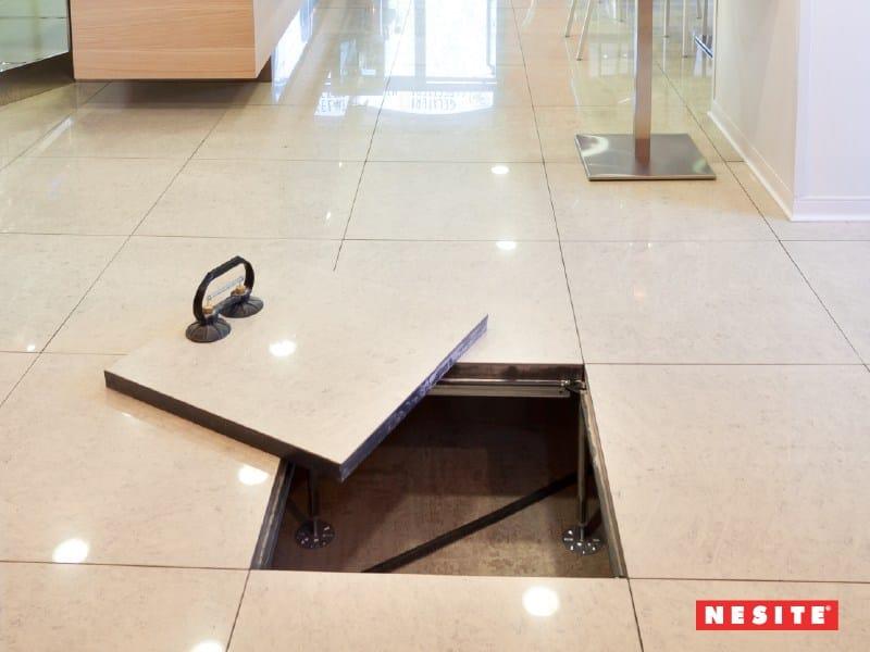 Nesite a Klimahouse con il nuovo pavimento sopraelevato radiante