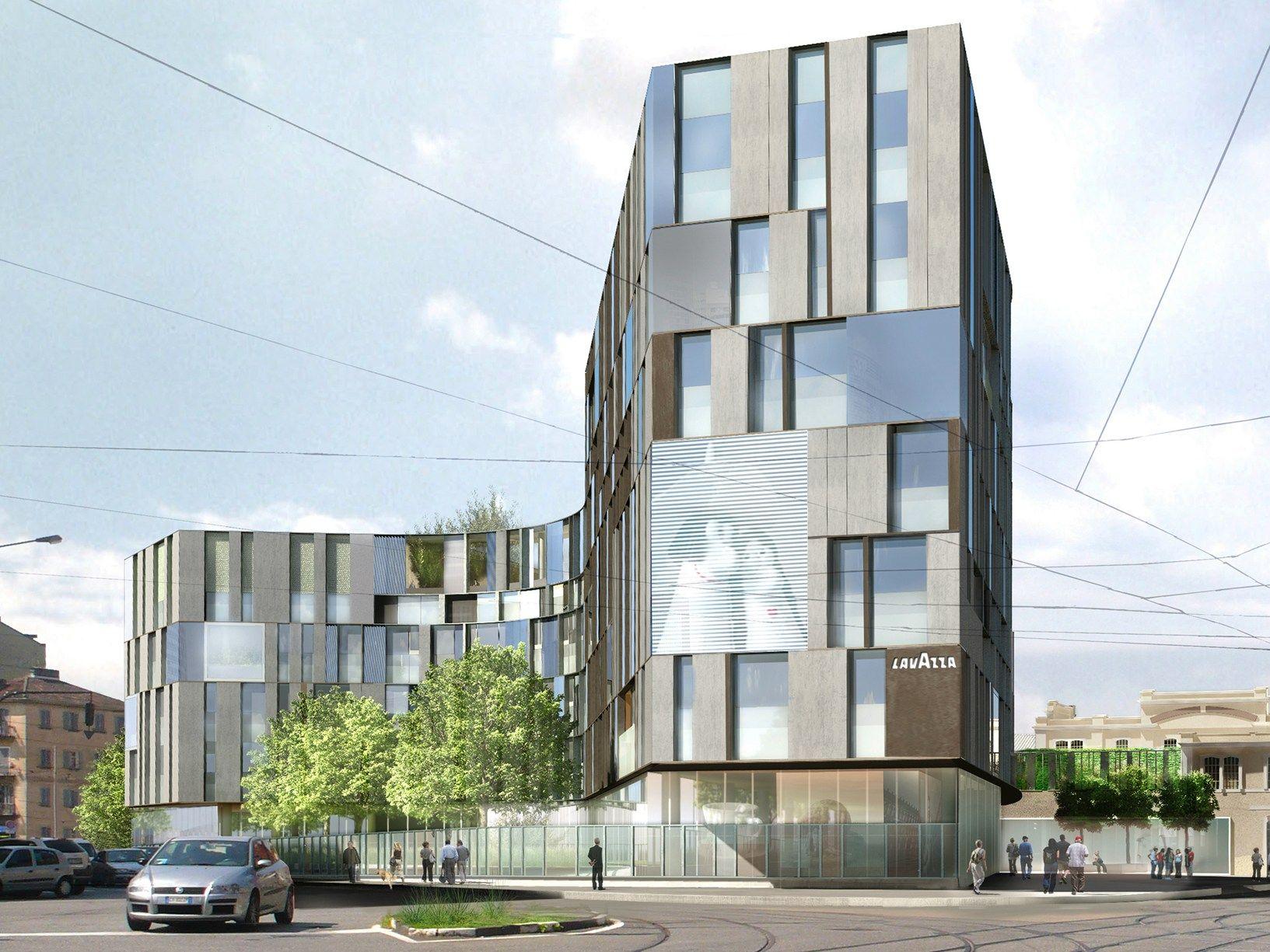 Lavoro Per Architetti Torino a torino la 'nuvola' verde lavazza di cino zucchi architetti