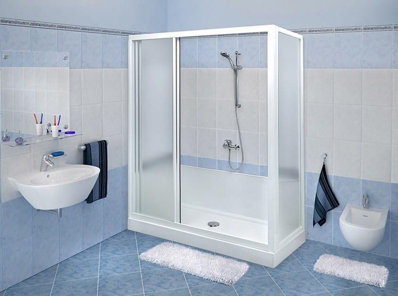 Trasformazione vasca in doccia di Remail