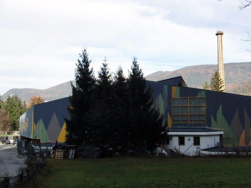Un impianto per sport sul ghiaccio a Brunico