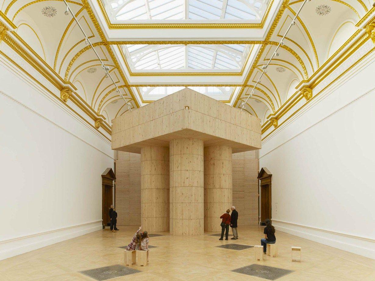 A Londra 'Sensing spaces: architecture reimagined'