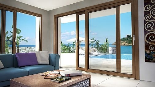 Grandi prospettive per gli alzanti scorrevoli alluminio-legno AluK SC180IWood