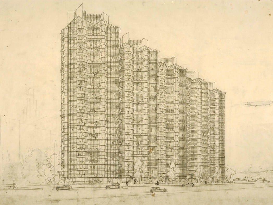 """Frank Lloyd Wright and the City: Density vs. Dispersal"""