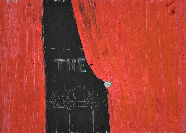 Disegno Vincenzo D'Alba, Courtesy A.A.M. Architettura Arte Moderna, Collezione Francesco Moschini e Gabriel Vaduva
