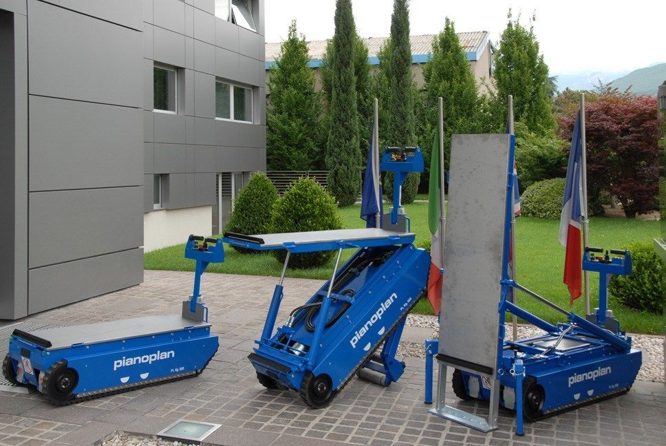 CTE alla MusikMesse di Francoforte con Pianoplan, il trasportatore su scala per pianoforti