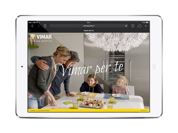 Vimar per te: navigazione ottimizzata per tablet