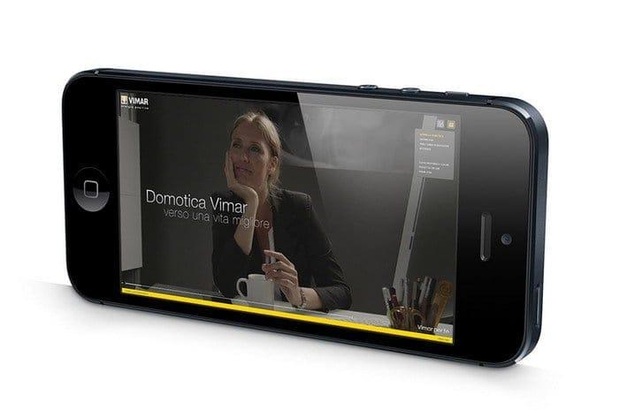 Vimar per te: navigazione ottimizzata per smartphone
