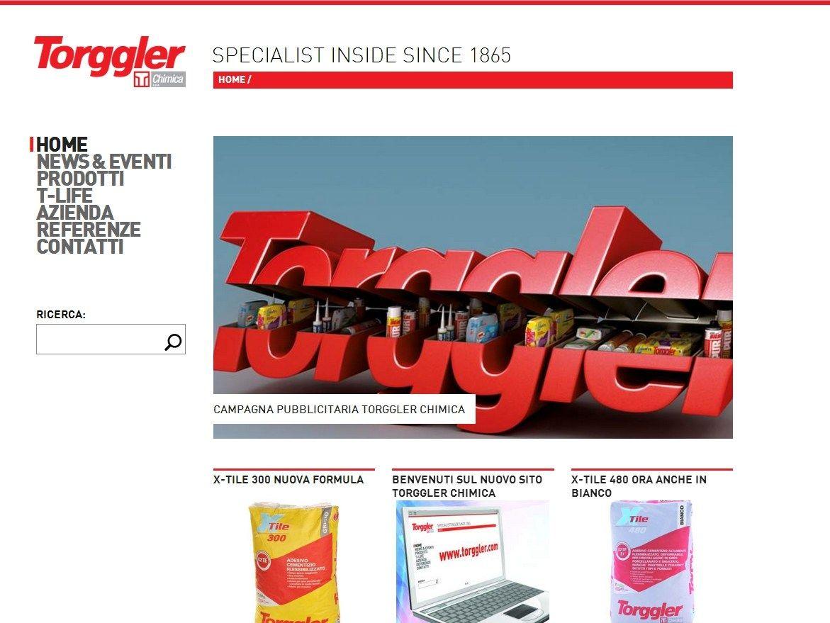 Torggler Chimica lancia il nuovo sito aziendale