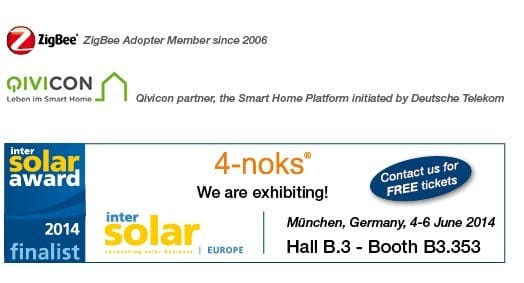4-noks: Renewable Energy Management System finalista a Intersolar Award 2014