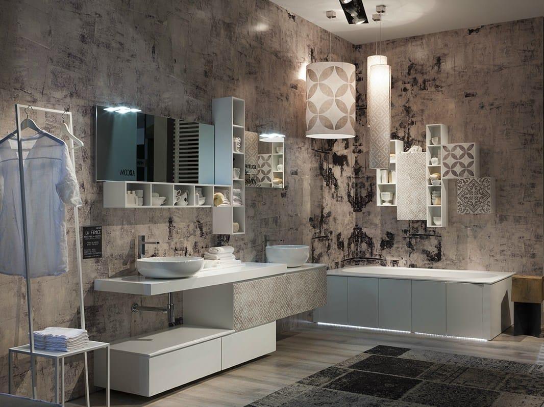 Le nuove collezioni arcom per l 39 ambiente bagno for Immagini mobili