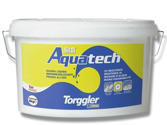 Torggler presenta Sitol Aquatech, la nuova guaina liquida impermeabilizzante pronta all'uso