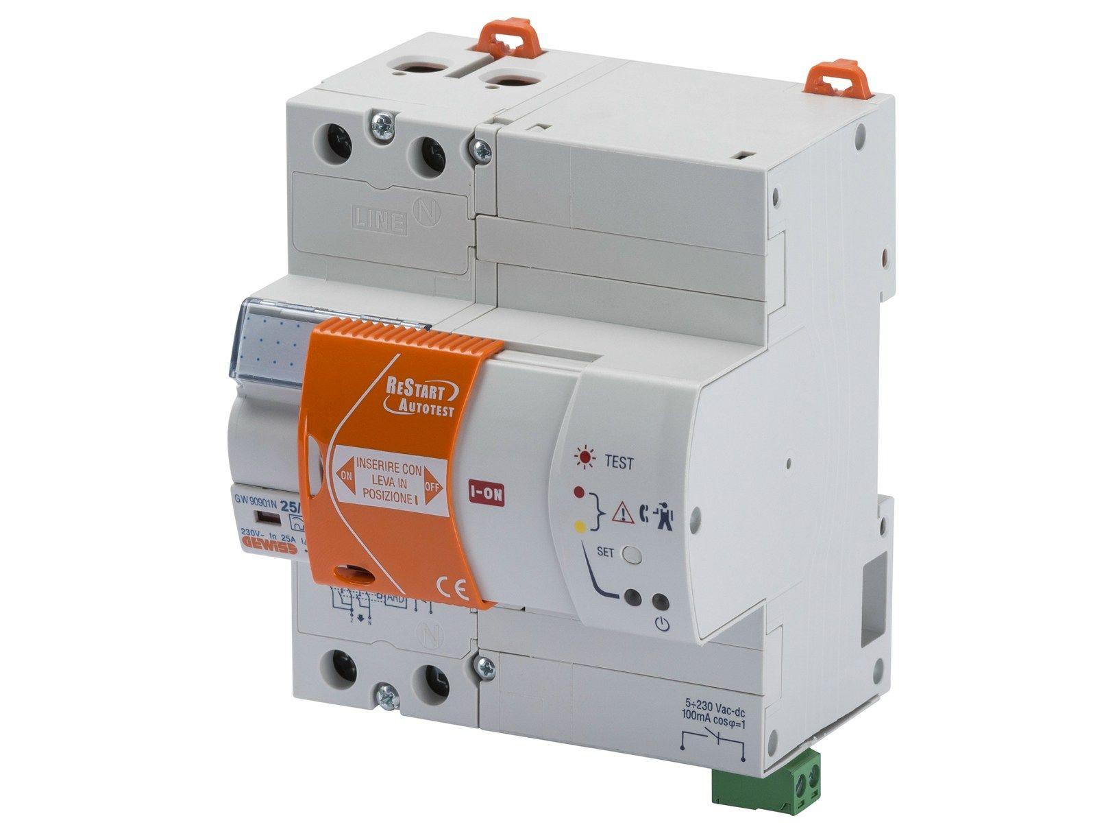 ReStart Autotest, il dispositivo di protezione Gewiss per la sicurezza delle persone e dell'impianto elettrico domestico